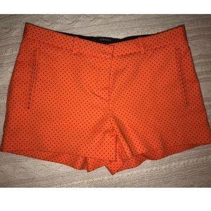 Versace polka dot shorts sz 4